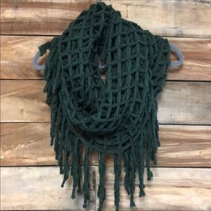 Altar'd State green fisherman's infinity scarf